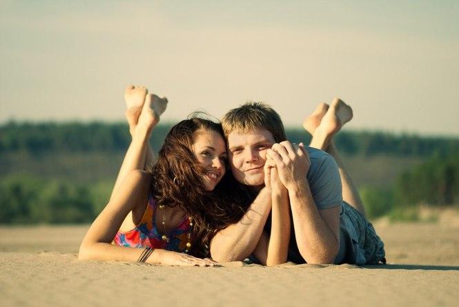 фотосессия влюблённых