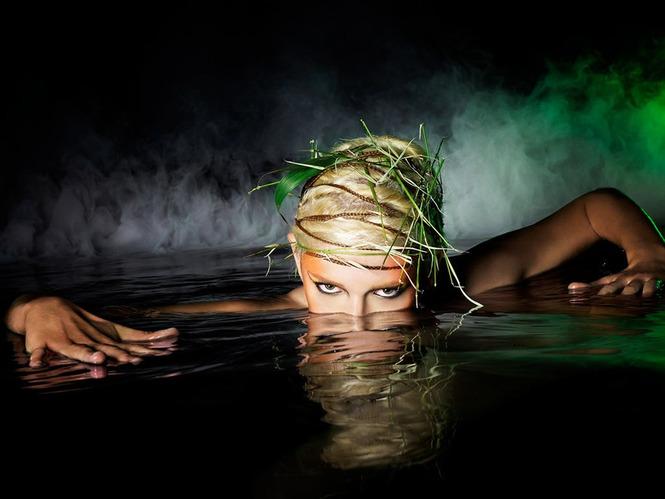 Фотосессия в воде